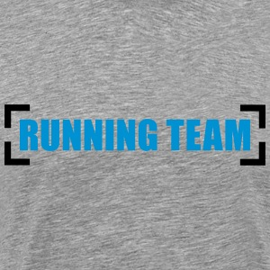 Running Team Design T-shirts - Premium-T-shirt herr