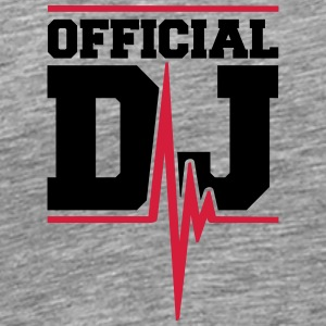 Official DJ Music Pulse T-Shirts - Men's Premium T-Shirt