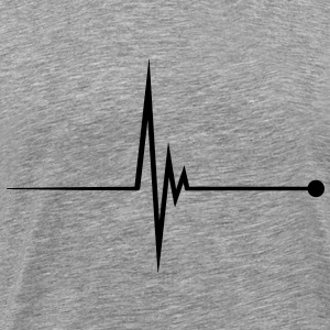 Heartbeat Pulse T-Shirts - Men's Premium T-Shirt