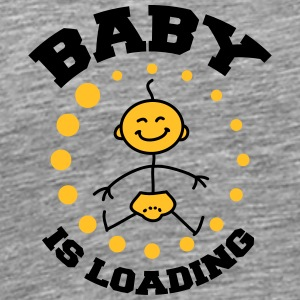 Baby Is Loading T-shirts - Mannen Premium T-shirt