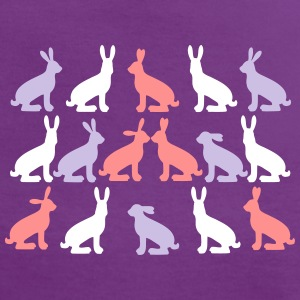 hares 16x Vektor T-shirts - Vrouwen contrastshirt