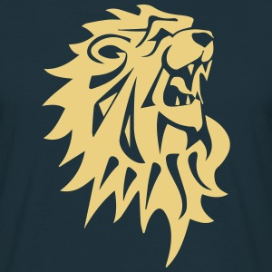 lion - T-shirt herr
