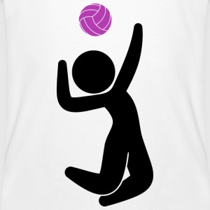 Volleyball (dd)++2013 T-shirts - Ekologisk T-shirt herr