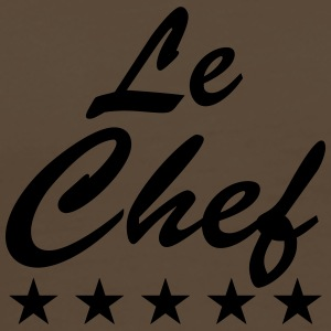 Le Chef Design T-skjorter - Premium T-skjorte for menn
