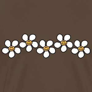Cute Flowers T-skjorter - Premium T-skjorte for menn