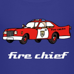 fire chief car T-Shirts - Kinder Premium T-Shirt