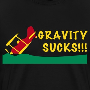 Gravity Sucks - Men's Premium T-Shirt