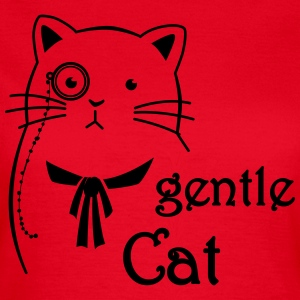 Gentle Cat T-Shirts - Frauen T-Shirt