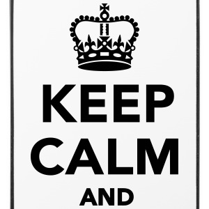 Keep calm and Handy & Tablet Hüllen - iPhone 4/4s Hard Case