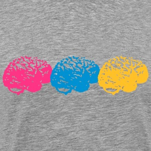 Brains T-shirts - Herre premium T-shirt