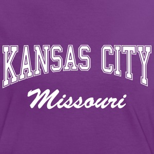 kansas_city_missouri T-Shirts - Frauen Kontrast-T-Shirt
