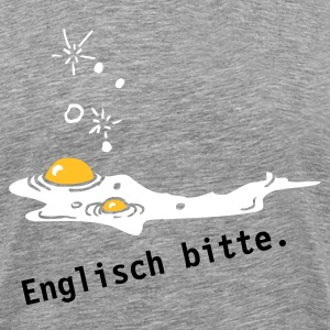 English breakfast - Männer Premium T-Shirt