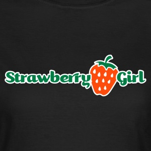 Chocolate strawberry girl T-Shirts (Kurzarm) - Frauen T-Shirt