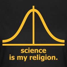 Chocolate Science is my religion Women's Tees (short sleeved)