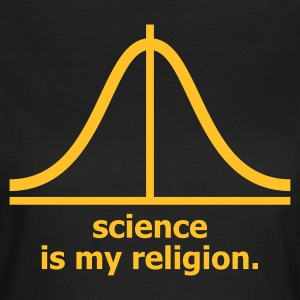 Choklad Science is my religion T-shirts (kort ärm) - T-shirt dam