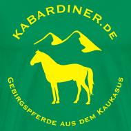 Motiv ~ dunkelgrün mit Logo vorne