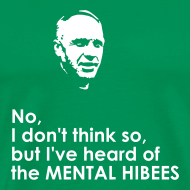 Design ~ Hibs Shanks Tee (you choose the colour of this item)