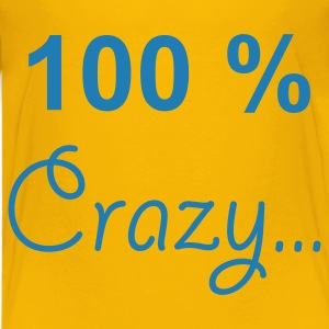 Gelb crazy Kinder Shirts - Teenager Premium T-Shirt