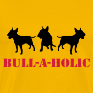 Design ~ Mens 'Bull-a-holic' T-Shirt