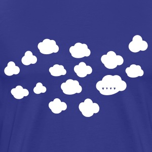 Sky clouds Men's Tees (short-sleeved) - Men's Premium T-Shirt