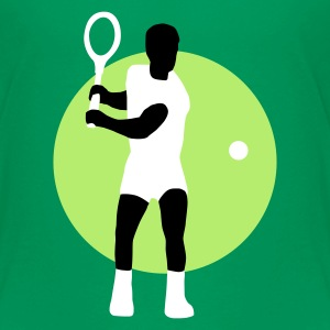 Kelly green tennis_c_3c Kinder T-Shirts - Teenager Premium T-Shirt