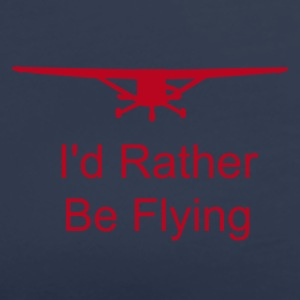 I'd Rather Be Flying - Women's Premium T-Shirt