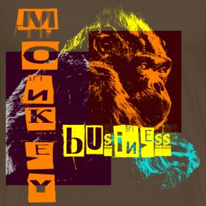 monkey  business - Men's Premium T-Shirt
