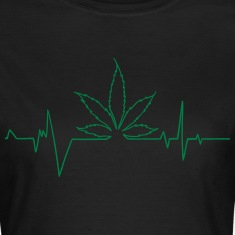 cannabis pulsation Tee shirts