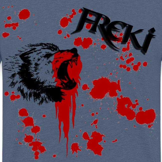 "kinder-Shirt mit Odin´s Wolf ""Freki"""