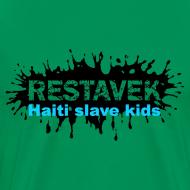 Motiv ~ Mann T-Shirt Restavek Splash 03blau © by kally ART®