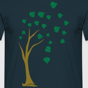 deciduous tree T-Shirts - Men's T-Shirt