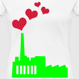 Love producing Plant T-shirts - Vrouwen Premium T-shirt
