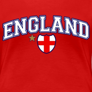 England Football T-Shirts - Women's Premium T-Shirt
