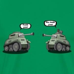 Tank you T-shirts - Mannen Premium T-shirt