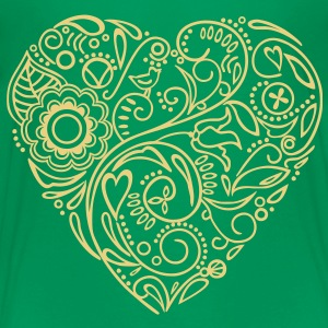 doodle heart Shirts - Teenager Premium T-shirt