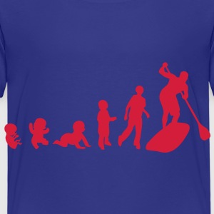 evolution paddle board bebe baby adulte Tee shirts - T-shirt Premium Enfant