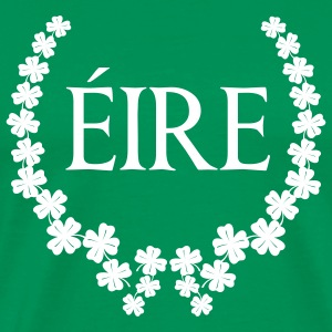 Laurel wreath Ireland  T-Shirts - Men's Premium T-Shirt