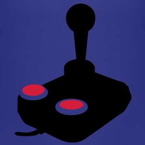 manette jeux video joystick paddle1 Tee shirts - T-shirt Premium Enfant