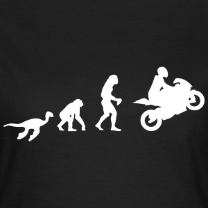 Evolution Motorrad Shirt for Girls - Frauen T-Shirt