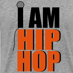 I Am Hip Hop T-shirts - Herre premium T-shirt