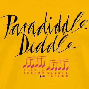 paradiddle_diddle1 T-Shirts - Männer Premium T-Shirt