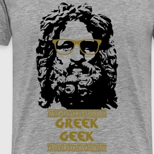 Greek Geek Tee shirts - T-shirt Premium Homme