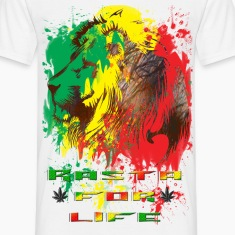 rasta for life.png T-Shirts