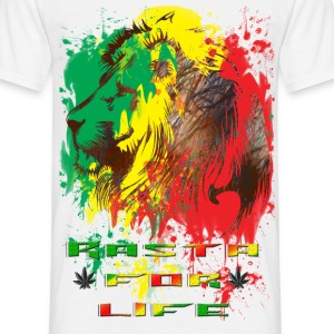 rasta for life.png T-Shirts - Men's T-Shirt