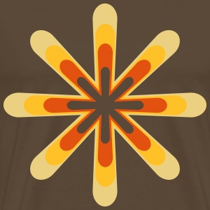 70s star  T-Shirts - Men's Premium T-Shirt