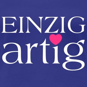 Einzigartig Shirt for Girls - Frauen Premium T-Shirt