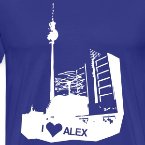 I LOVE Alex in Berlin Shirt - Männer Premium T-Shirt