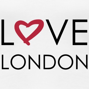 love london T-Shirts - Frauen Premium T-Shirt