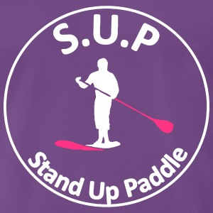 sup - Stand Up Paddle - T-shirt Premium Homme
