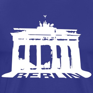 Brandenburg Gate, Berlin  T-Shirts - Men's Premium T-Shirt